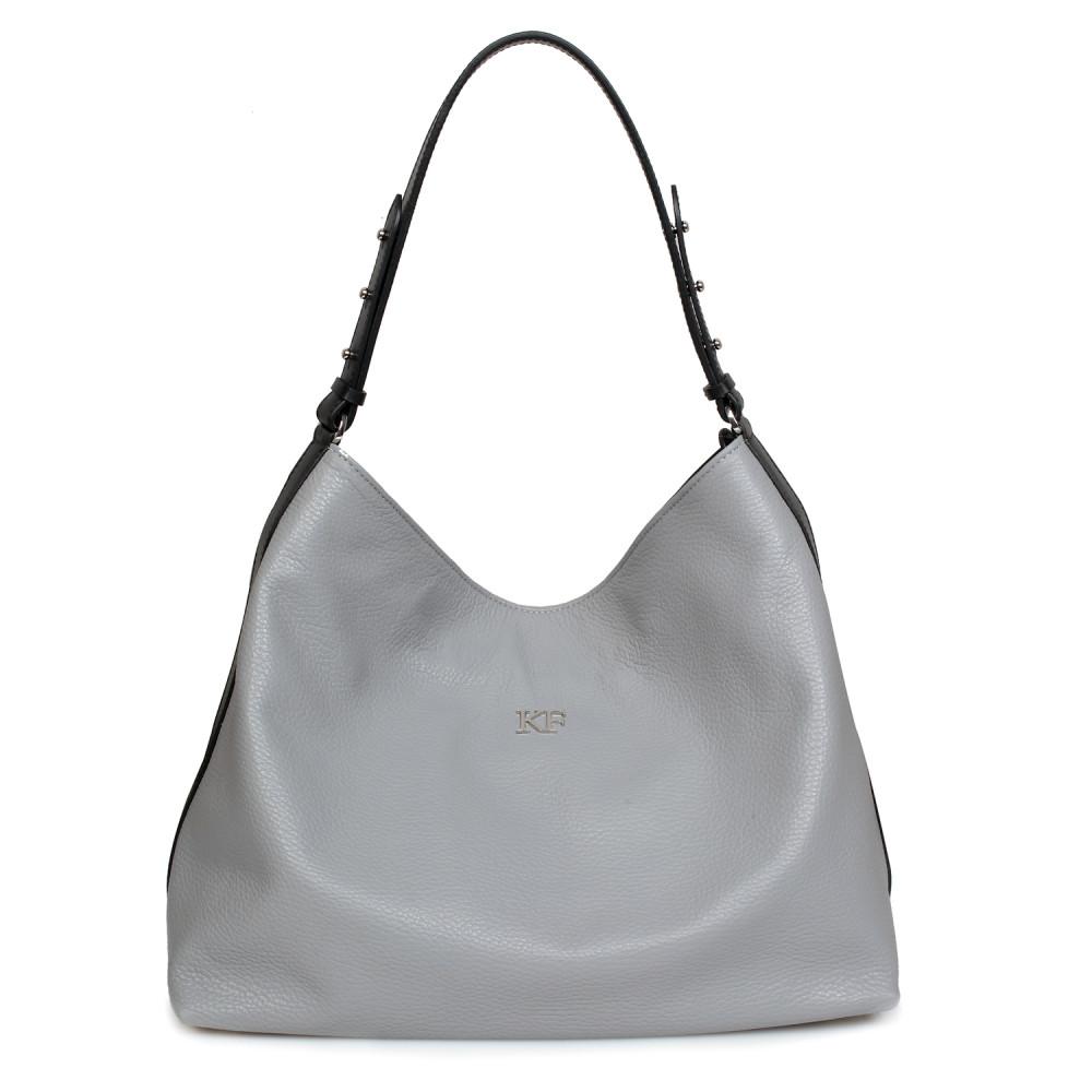Жіноча шкіряна сумка-мішок Хобо Nata KF-705