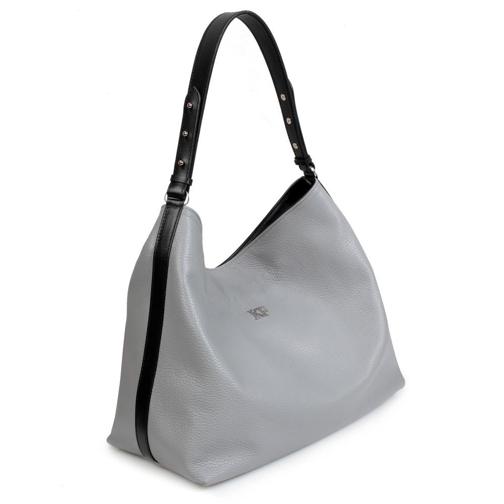 Жіноча шкіряна сумка-мішок Хобо Nata KF-705-1