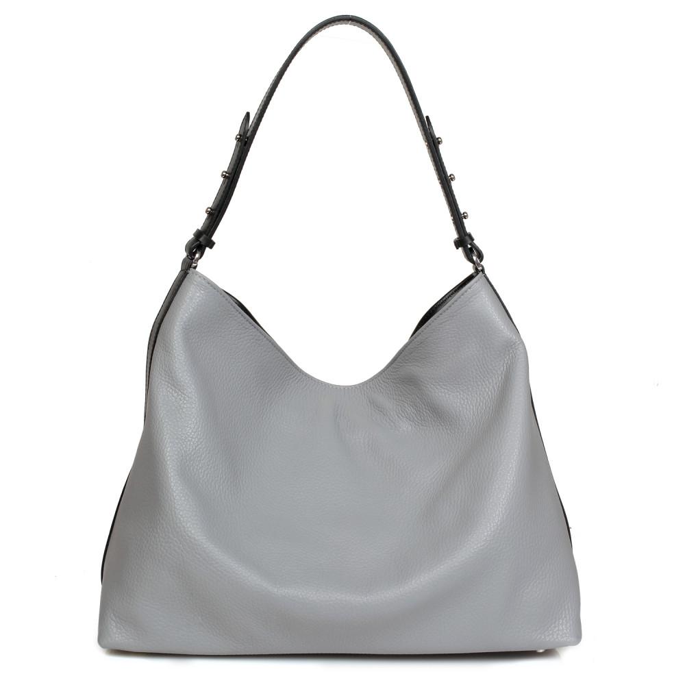 Жіноча шкіряна сумка-мішок Хобо Nata KF-705-2