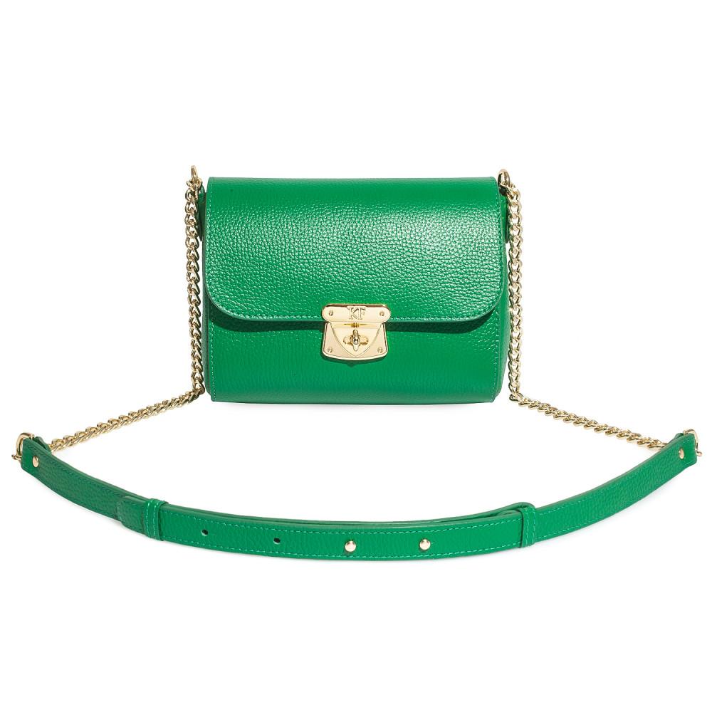 Жіноча шкіряна сумка на ланцюжку Prima S KF-714-