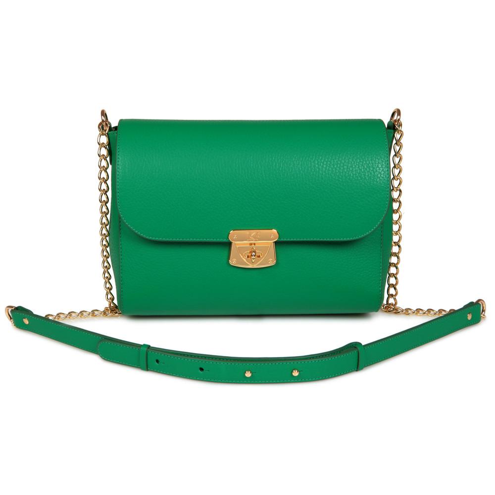 Жіноча шкіряна сумка на ланцюжку Prima M KF-715-