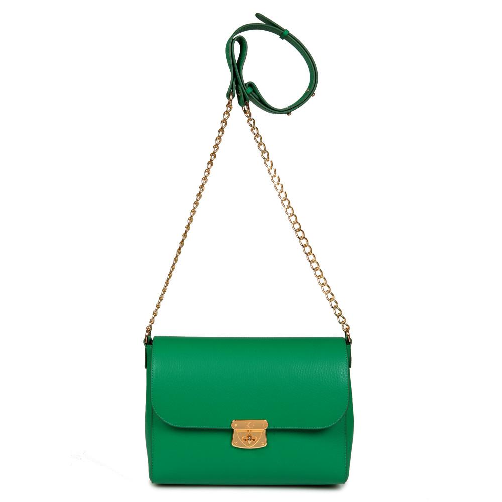 Жіноча шкіряна сумка на ланцюжку Prima M KF-715-2