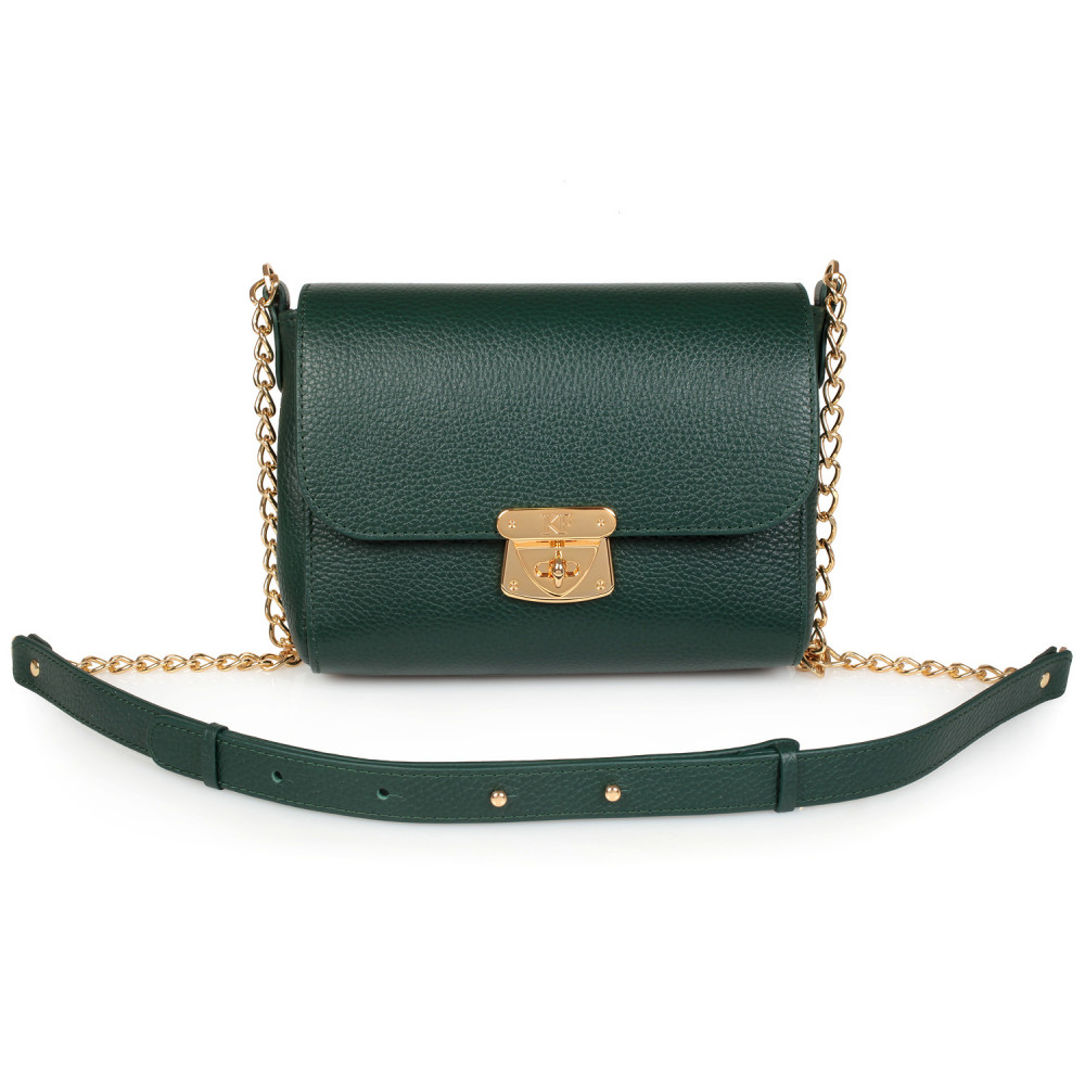 Жіноча шкіряна сумка на ланцюжку Prima S KF-826