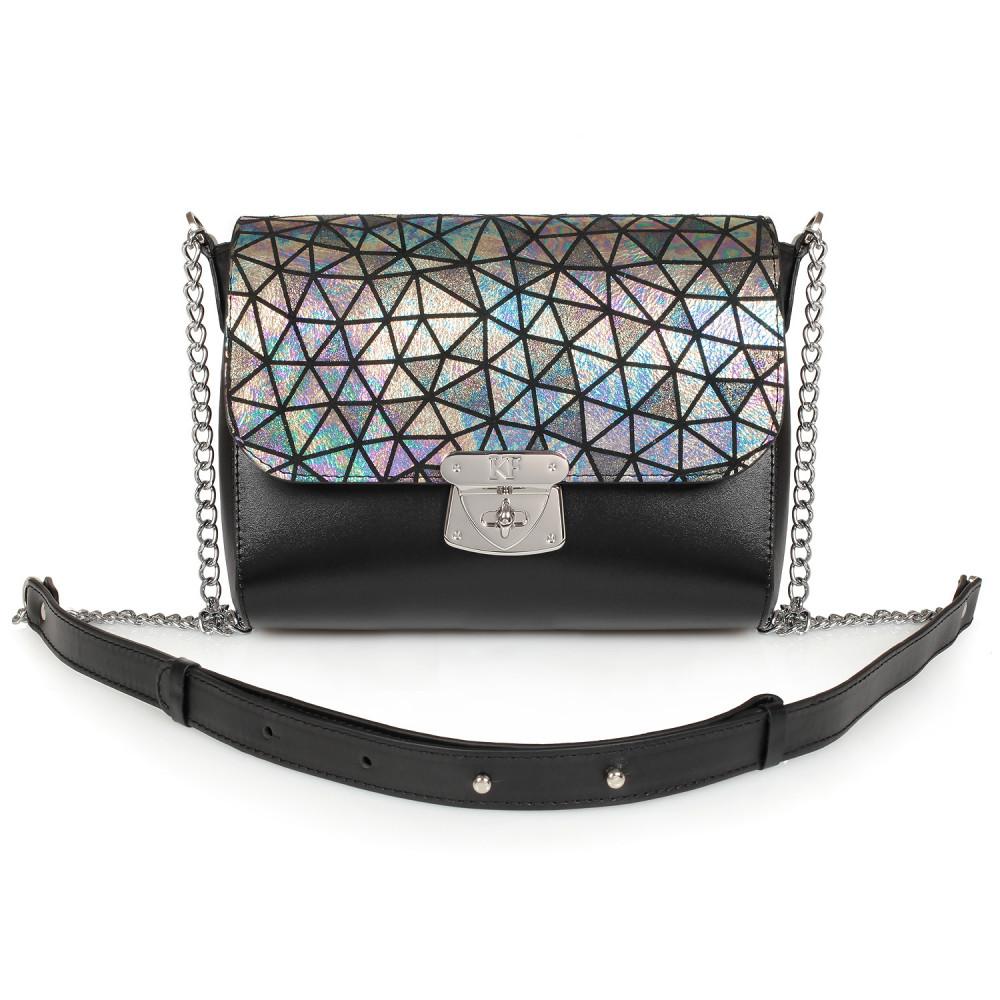 Жіноча шкіряна сумка на ланцюжку Prima S KF-891