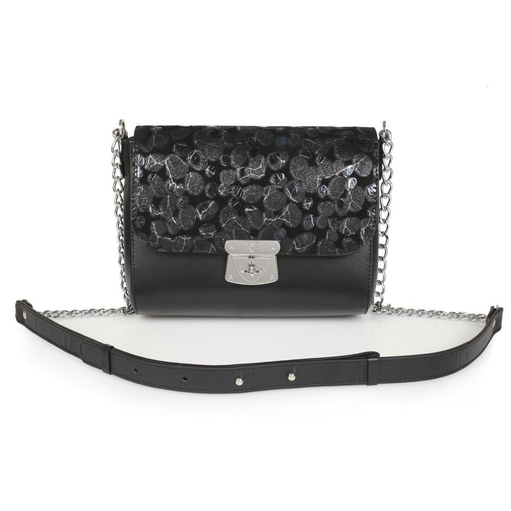 Жіноча шкіряна сумка на ланцюжку Prima S KF-913-