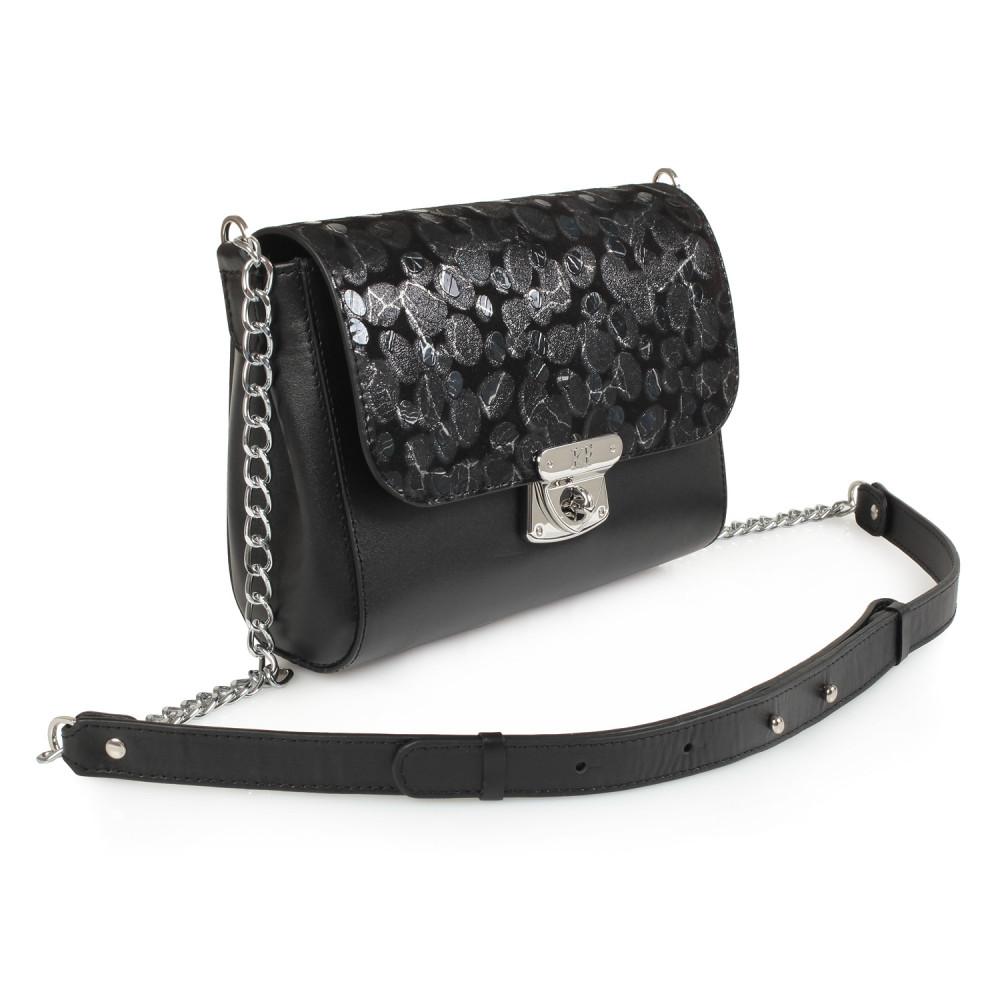 Жіноча шкіряна сумка на ланцюжку Prima S KF-913-1