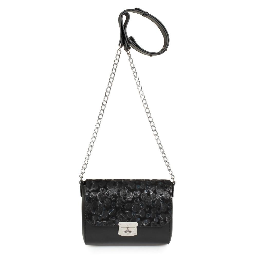Жіноча шкіряна сумка на ланцюжку Prima S KF-913-2
