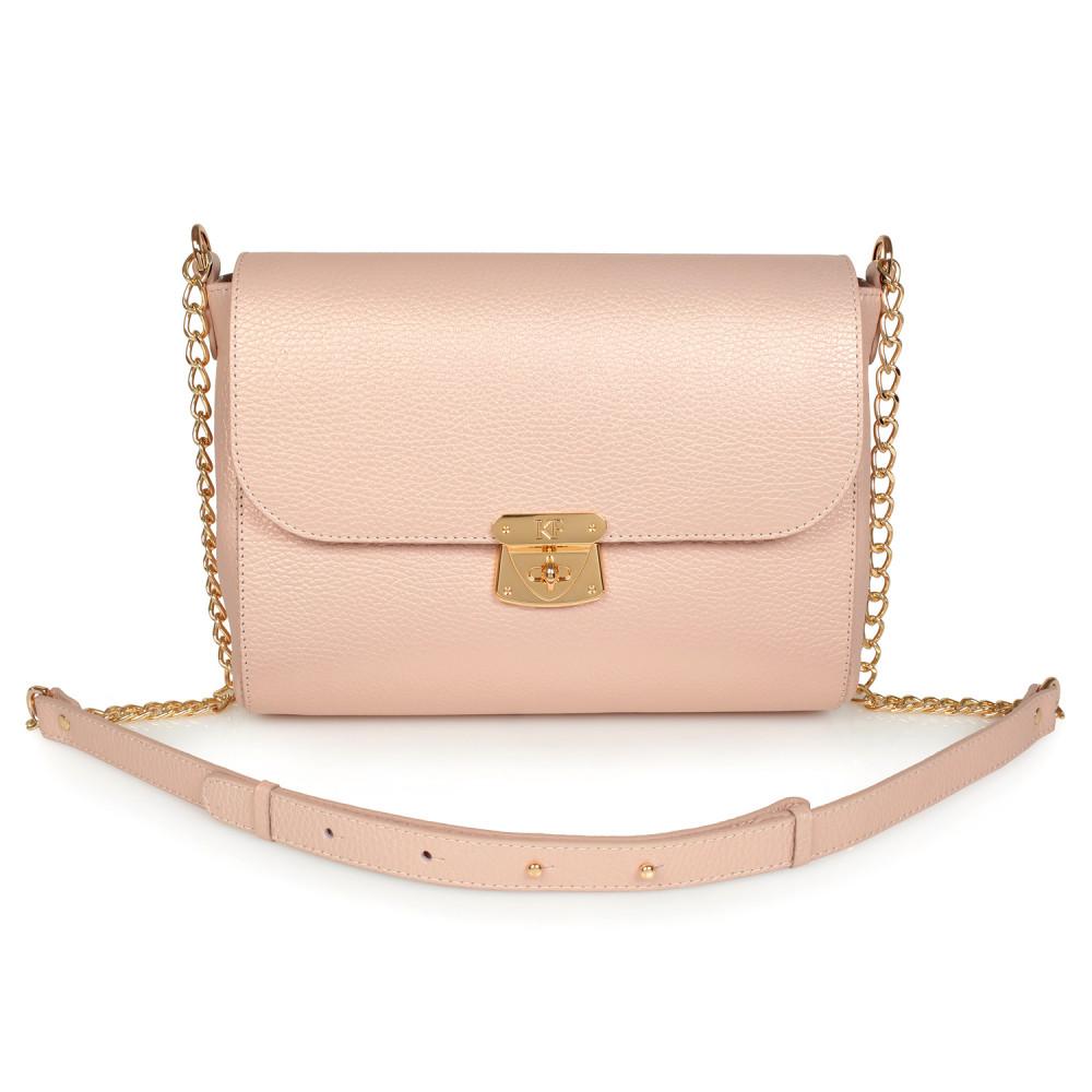 Жіноча шкіряна сумка на ланцюжку Prima M KF-931