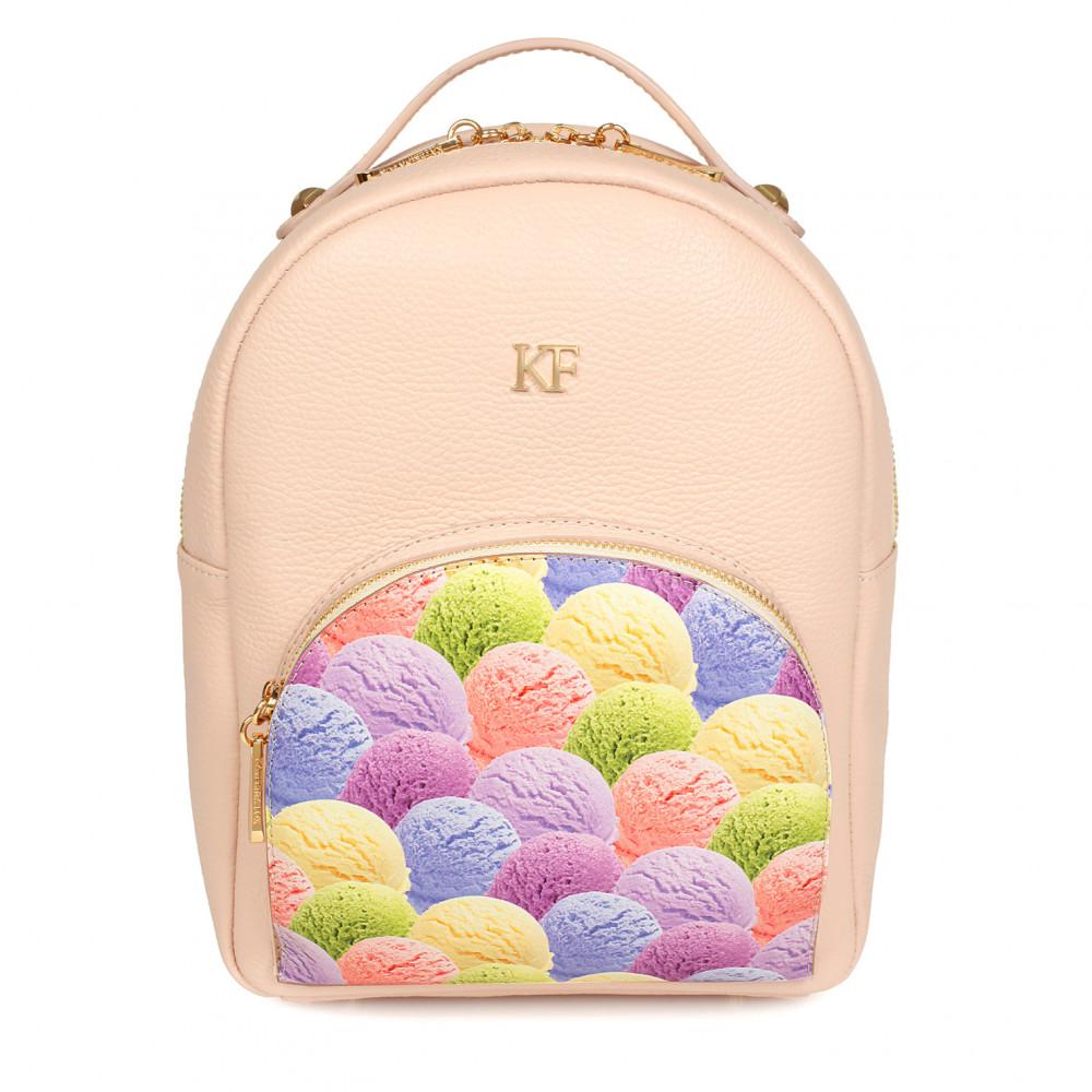 Жіночий шкіряний рюкзак Alina KF-953