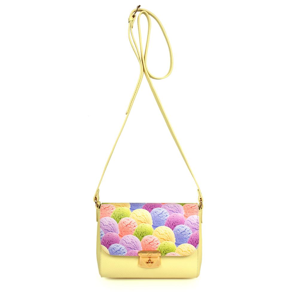 Жіноча шкіряна сумка кросс-боді Prima S KF-957-2