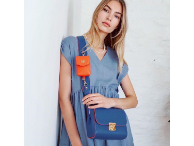 Wide shoulder strap bags by Katerina Fox – stylish comfort